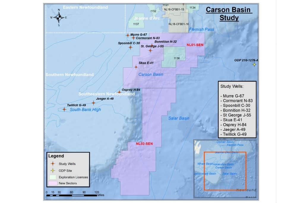 Integrated Stratigraphic framework for Offshore Southern Newfoundland Carson Basin Future Geoscience Featured Image